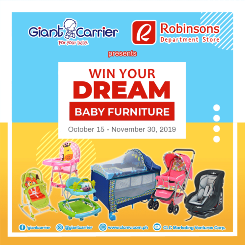 Win your dream baby furniture