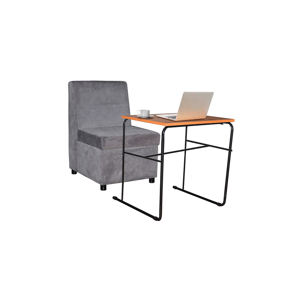 Mavs Chair with Storage and Table