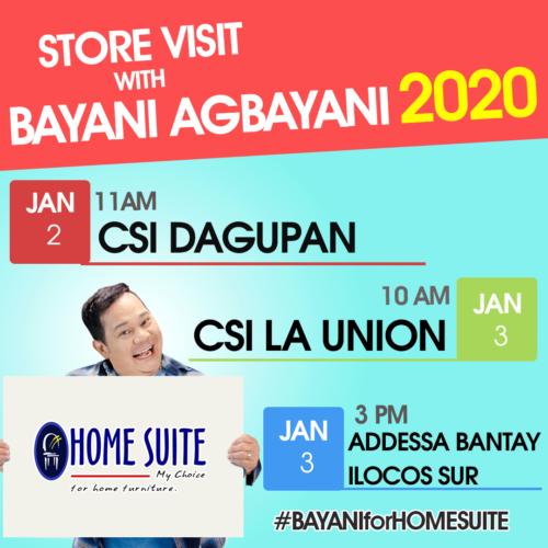 Bayani Agbayani Store Visit